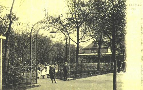 Ingang van het Volkspark