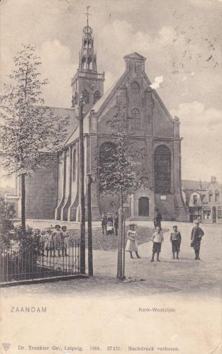 Westzijderkerk in 1904