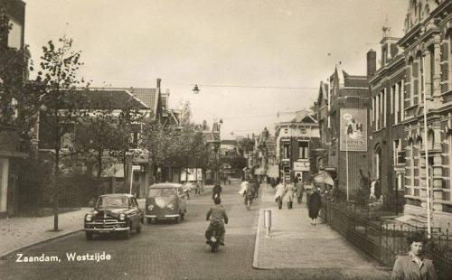 De Westzijde in 1961